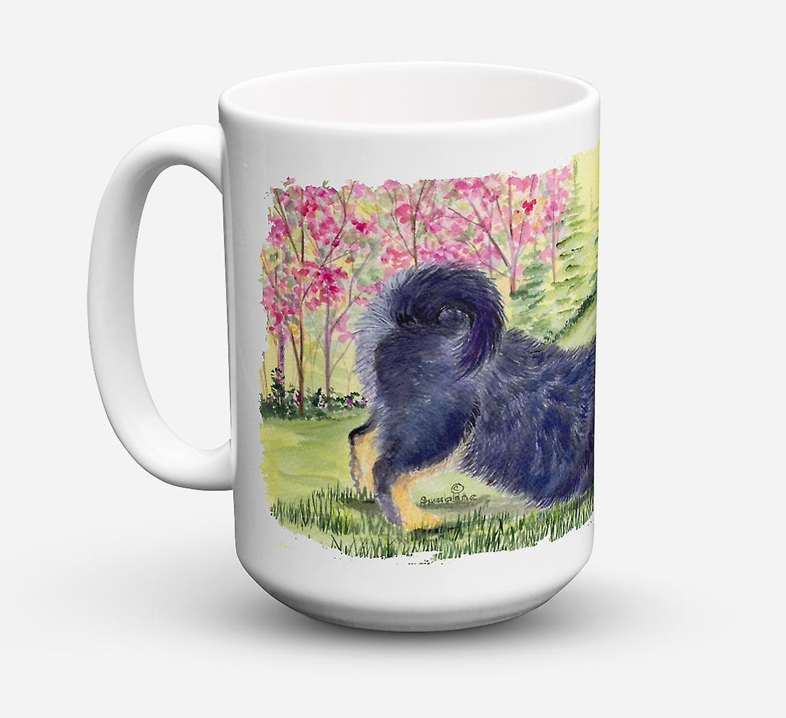 vaisselle Micro Café Mug ondable Céramique Sûre Lave Onces 15 Mastiff Tibetan 5L3RjA4