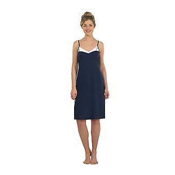 BlackSpade 6105-050 Women's Navy Robe Loungewear Bath Dressing Gown