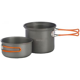 Vango Hard Anodised 2 Person Cook Kit with Bag