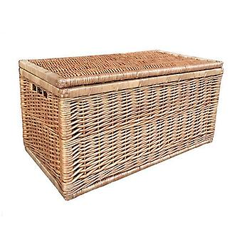 Medium lys dampet Wicker linned brystet