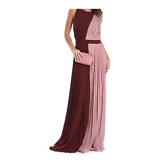 Mangano ladies PMNG001360392 Bordeaux red/pink other materials dress