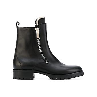 Dsquared2 men's W17BO1010152124 black leather ankle boots