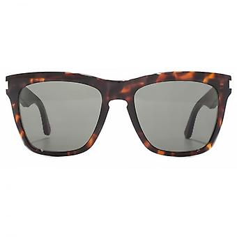 Saint Laurent SL 137 Devon Sunglasses In Havana