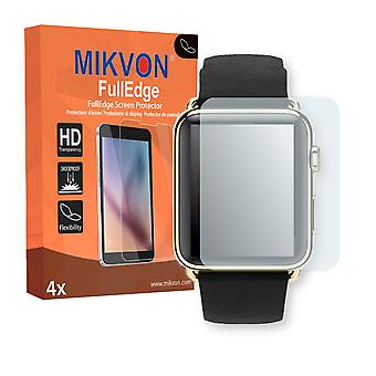 Apple Watch 42mm (Series 3) screen protector - Mikvon FullEdge (screen protector with full protection and custom fit for the curved display)