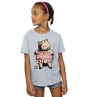 Disney Girls Toy Story Kung Fu Pork Chop T-Shirt