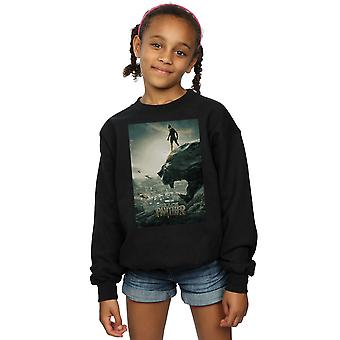 آعجوبة الفتيات الفهود السود ملصق البلوز