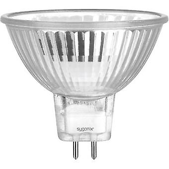 Eco halogen 49 mm Sygonix 12 V GU5.3 20 W Warm white EEC: C Reflector bulb dimmable 1 pc(s)