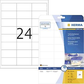 Herma 4389 Labels (A4) 66 x 33.8 mm Paper White
