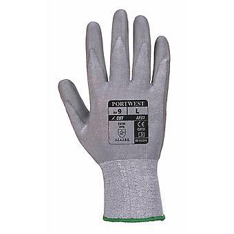 Portwest - 1 par Pack Senti kutt Lite hånd beskyttelse grep hanske