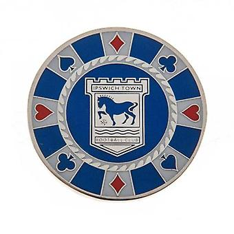 Ipswich Town Casino Chip Ball Marker