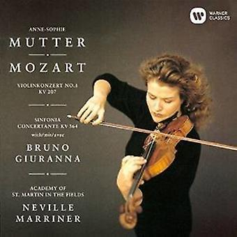 Anne-Sophie Mutter - Mozart: Violin Concerto No. 1 Sinfon [CD] USA import