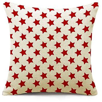 Wellindal Cushion Cover Stars Polyester (Decoration , Textile , Cushions , Cushions)