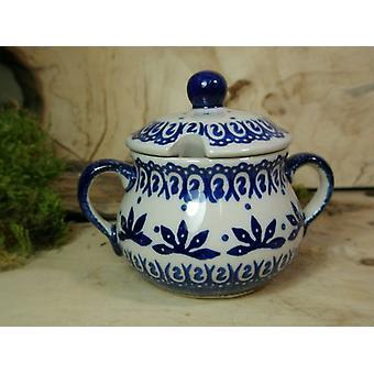 SOCKERSKÅL, höjd 10 cm, diameter 12 cm, 56 tradition polonaise poterie - BSN 22019