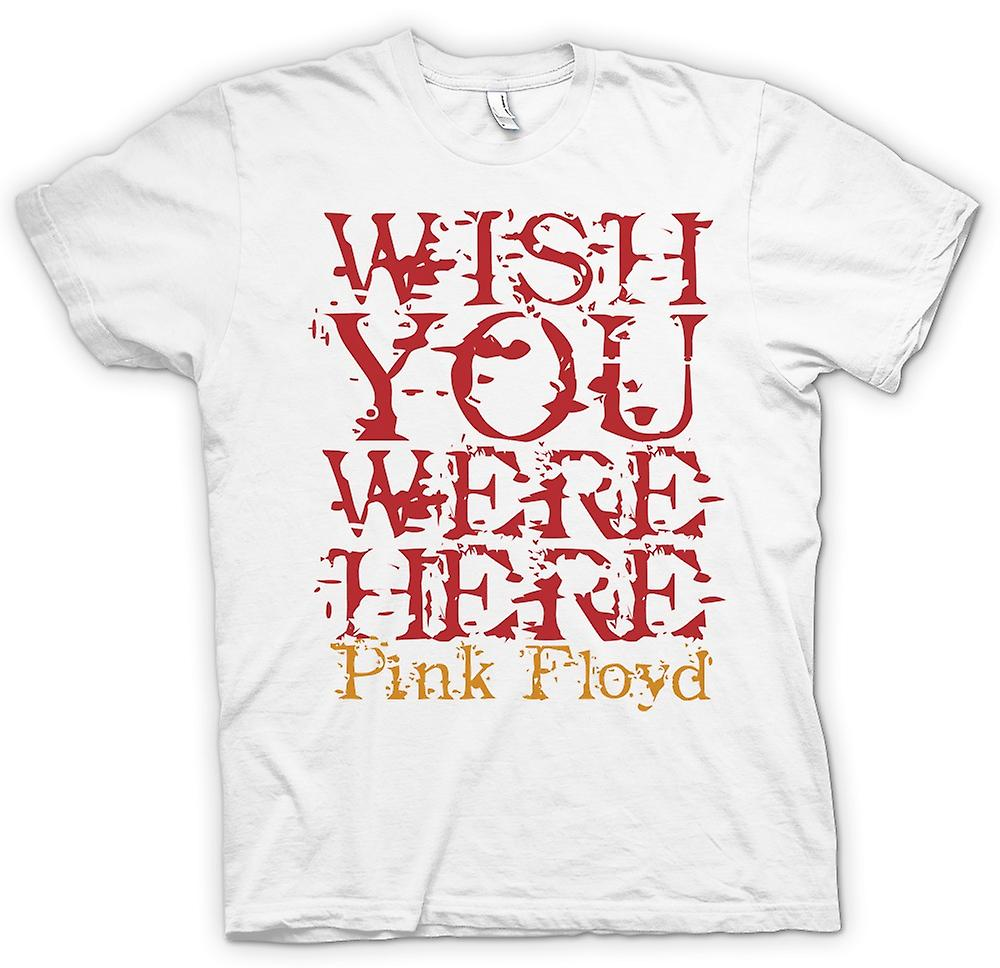 Womens T-shirt - Wish You Were There - Quote