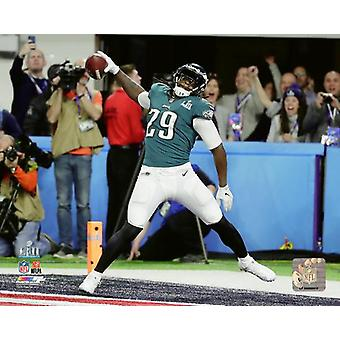 LeGarrette Blount Touchdown Run Super Bowl LII Photo Print