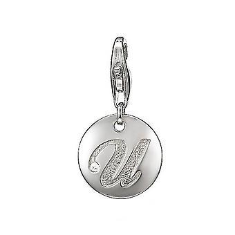 ESPRIT pendant of charms silver Letter U ESZZ90839A000