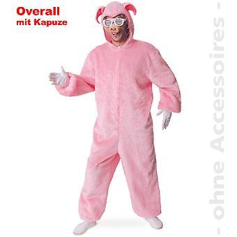 Swine boar sow costume jumpsuit pig suit unisex
