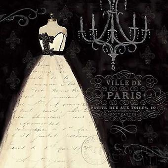 French Couture I Poster Print by Emily Adams (24 x 24)