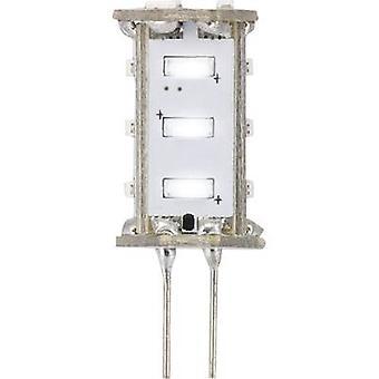 Sygonix LED EEC A (A++ - E) G4 Pen 0.8 W = 5 W Cool white (Ø x L) 13 mm x 33 mm 1 pc(s)