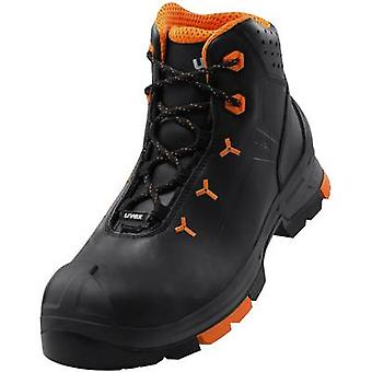 Safety work boots S3 Size: 43 Black, Orange Uvex 2 6503243 1 pair
