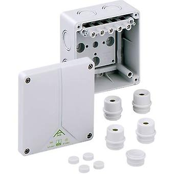 Joint box (L x W x H) 110 x 110 x 67 mm Spelsberg 80640701 Grey