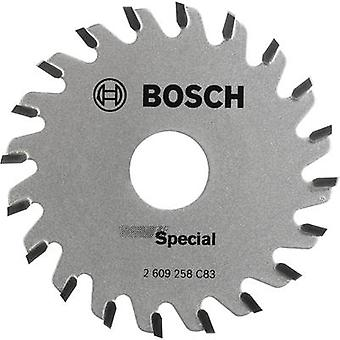 Carbide metal circular saw blade 65 x 15 mm Number of cogs: 20 Bosch Accessories Special 2609256C83 1 pc(s)