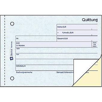 Avery-Zweckform Receipt 1735 A6 landscape No. of sheets: 40 White