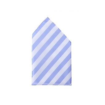 Noble gloss Fabio Farini white light blue striped handkerchief business Strip