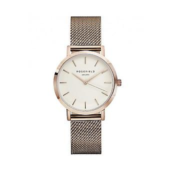 ROSEFIELD - watch - ladies TWR-T50 - THE TRIBECA WHITE ROSE GOLD