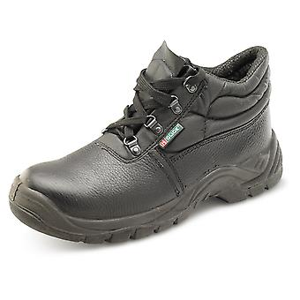 Click Dual Density Chukka Safety Boot With Midsole Black. S3 - Cdds3Cms