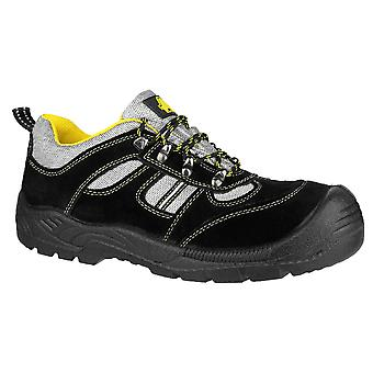 Amblers Mens FS111 Steel Toe & Midsole Safety Trainer S1-P-SRC