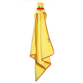 Baby Handtuch mit Kapuze Pfützen das Entlein