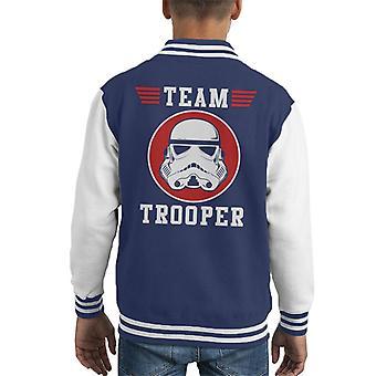 Opprinnelige Stormtrooper Team Trooper barneklubb Varsity jakke