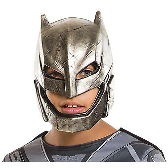 Armored Batman v Superman Dawn of Justice Superhero Boys Costume 1/2 PVC Mask