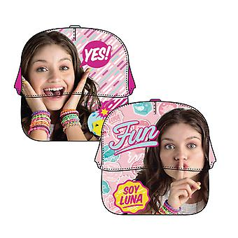 Disney Soy Luna Fun Baseball Cap One Size Light Pink