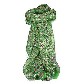 Maulbeere traditionelle quadratischen Seidentuch Eyer Smaragd von Pashmina & Seide