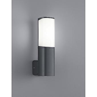 Trio Lighting Ticino Modern Anthracite Diecast Aluminium Wall Lamp