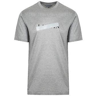 Lanvin Lanvin Grey Reflective Cross T-Shirt