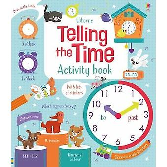 Telling the Time Activity Book by Bryan Lara - 9781474917919 Book