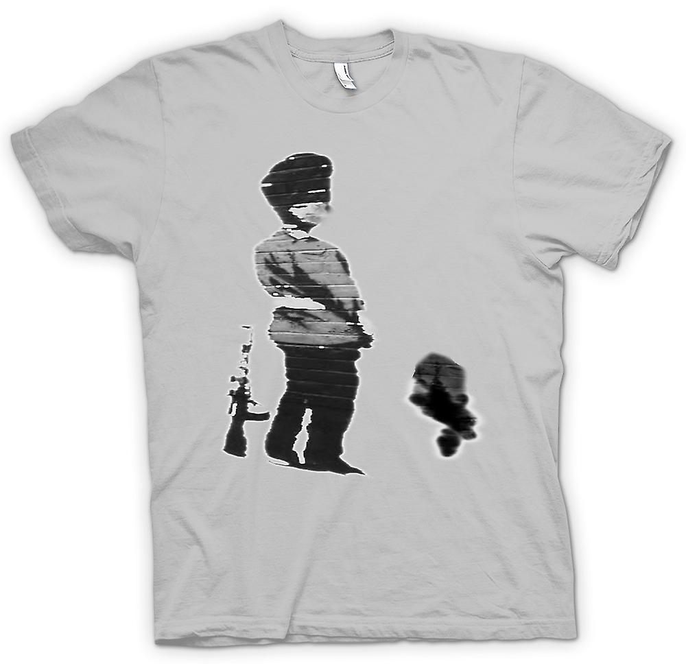 T-shirt des hommes - Art Graffiti Banksy - Soldier
