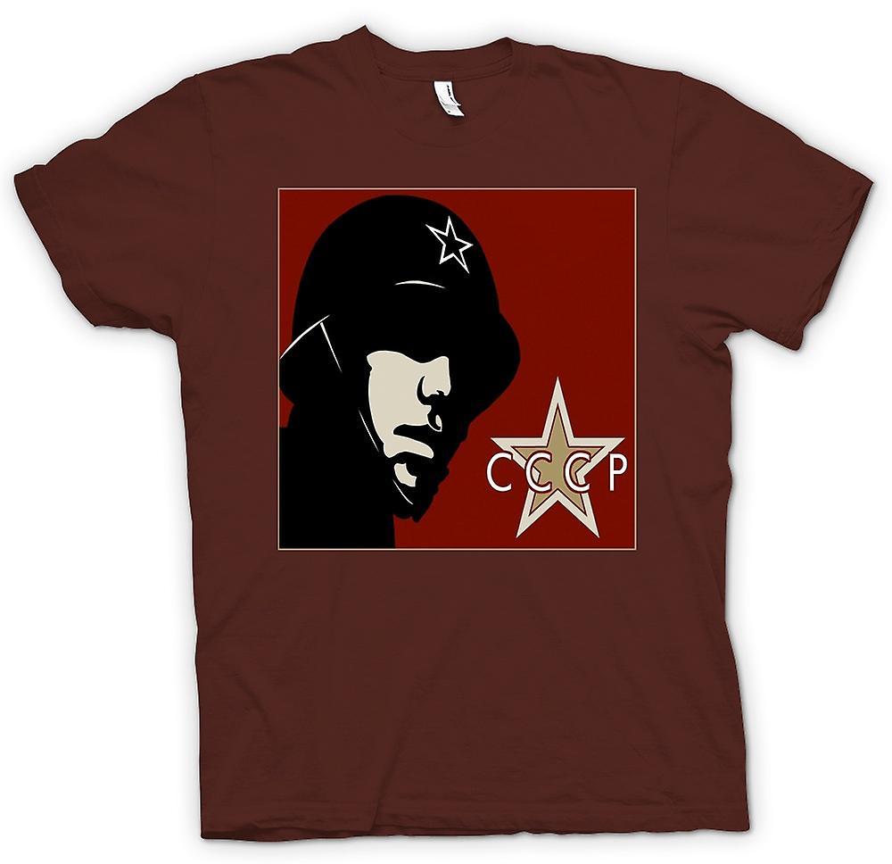 Manifesto di Propaganda mens t-shirt - russo CCCP-