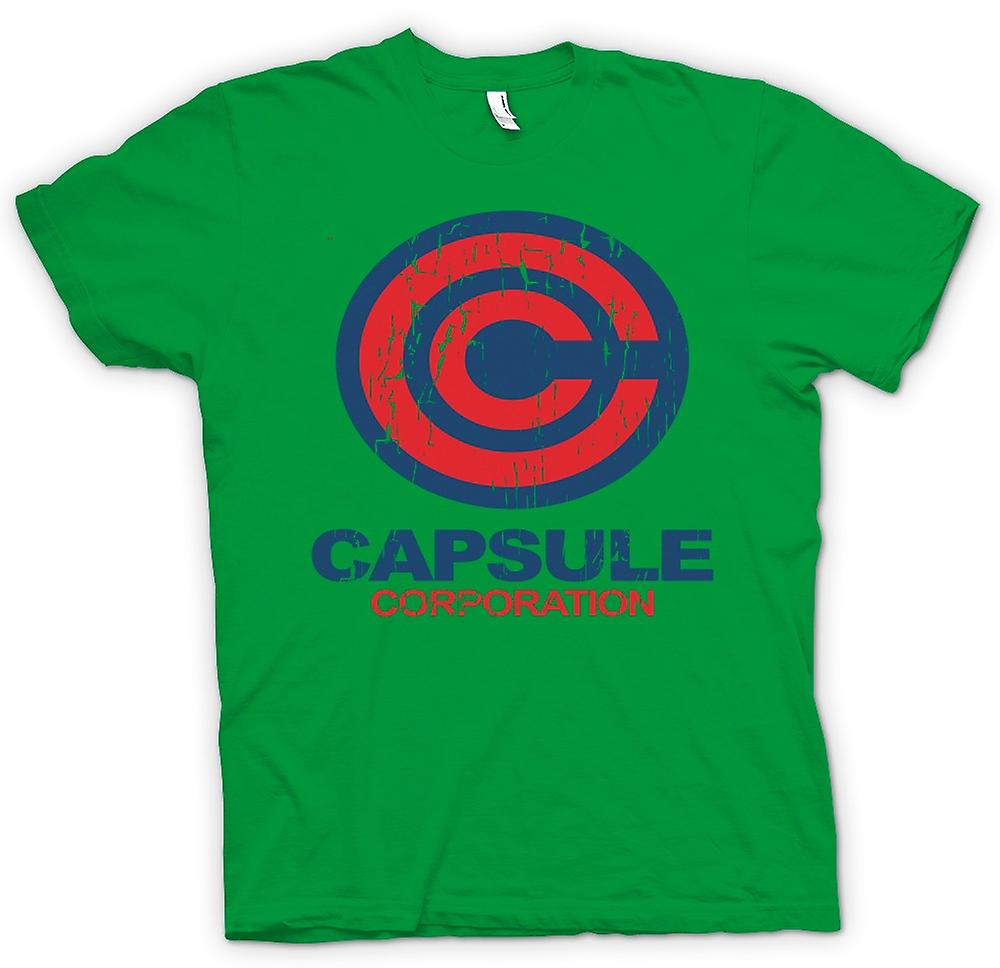 Mens T-shirt - Capsule Corporation - Dragonball