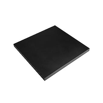 Happy Cocooning tafel deksel vierkant 81,5x81,5xH5 cm - zwart