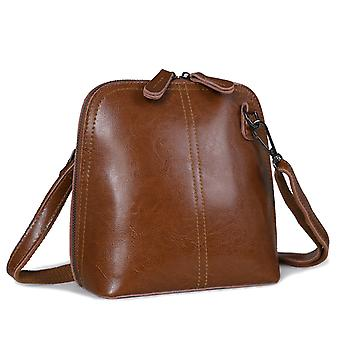 Shoulder handbag in genuine cow leather K8803B