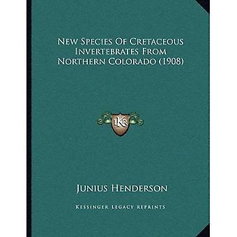 New Species of Cretaceous Invertebrates from Northern Colorado (1908)