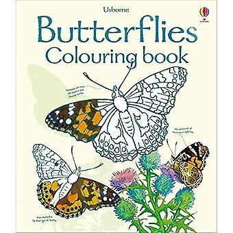 Livro de colorir de borboletas