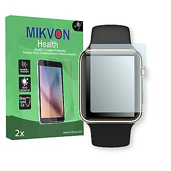 Apple Watch 38mm (Series 3) Screen Protector - Mikvon Health (Retail Package with accessories) (reduced foil)