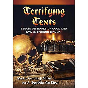 De terreur van de tekst: Essays on boeken, rollen en manuscripten in horrorfilms
