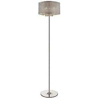 Spring Lighting - Brighton Silver Finish Floor Lamp  DSZT037TJ4GMPM