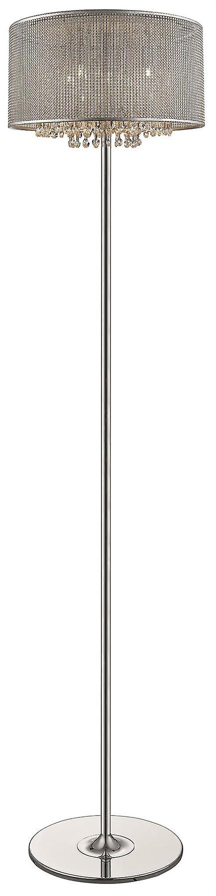 Spbague lumièreing - Brighton argent Finish Floor Lamp  DSZT037TJ4GMPM